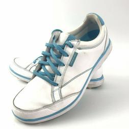Ashworth Womens Cardiff ADC Spikeless Golf Shoes Leather Whi