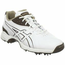 ASICS Womens GEL-Tour Lyte Golf Shoe,White/Coffee/Taupe,10 M