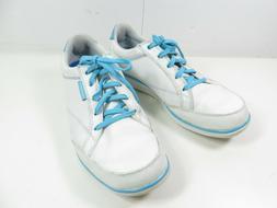 Ashworth Womens  Golf Shoes White Blue Aqua size 8 turquoise