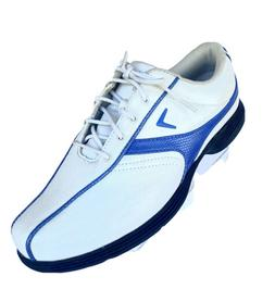 Women's Callaway Golf Size 6.5 White Blue shoes Lace Up Cl