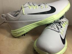 Nike womens Lunar Command 2 Golf shoes size 7.5 gray volt 88