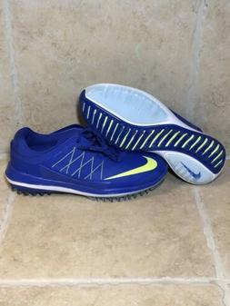 Womens Nike Lunar Control Vapor Golf Shoes Blue 849979-400 S