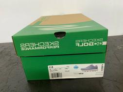 Skechers Womens Max-Fade Low Top Lace Up Golf Shoes, Size 8.