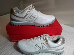 Womens New Balance Golf Shoes 574 SL White/Rose Gold NIB on
