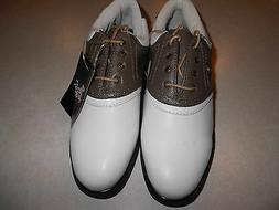 ASHWORTH WOMENS SIZE 9 TRADITIONAL SERIES SOFT SPIKE GOLF SH