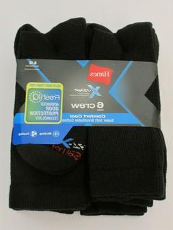Hanes Men's X-Temp® Comfort Cool® Crew 6-Pack