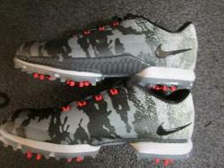 Nike Zoom Attack FW Camo Mens Golf Shoes Spikes SZ 8.5 Comma