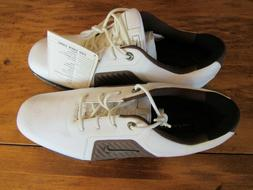 Nike Zoom Trophy Golf Shoes Cleats White Brown Men's Size